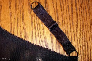 strap attached