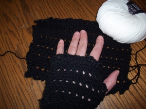 fingerless glove 1